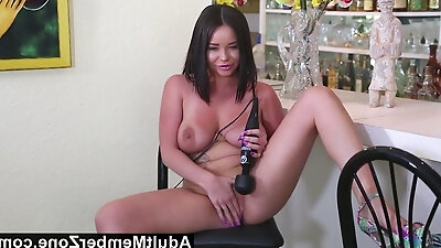 AdultMemberZone - Rachele's masturbating her pussy at the ho