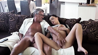 Striptease pussy rubbing and dildo fucking solo squirt