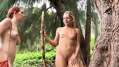 Sweetheart masturbates nicely