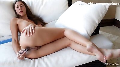 Beautiful Long Legs Fit Squirting Girl Andi And Her Perfect Ass